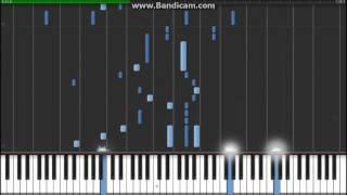 Shingeki no Kyojin OP - Guren no Yumiya - Synthesia (Piano)(EgOistHiuMan)
