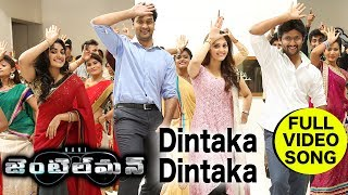 Dintaka Dintaka Full Video Song    Nani Gentleman Songs    Nani, Nivetha Thomas, Surabhi width=