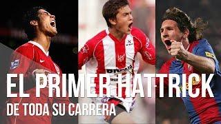 El PRIMER HAT-TRICK de Messi, C. Ronaldo, Dybala, Griezmann, Neymar, Bale y Agüero