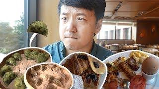 5 STAR Korean All You Can Eat BREAKFAST BUFFET in Seoul! width=