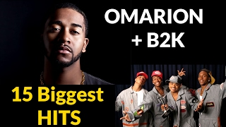 Omarion & B2K | 15 Biggest Hits | Greatest Hits 2017 Edition | ChartExpress