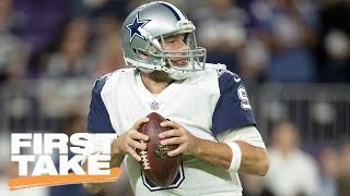 Stephen A. Smith Prefers Plenty Of QBs Over Tony Romo   First Take   March 28, 2017