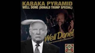 "Kabaka Pyramid - Well Done ""Donald Trump Special"" (2016 RUFF SONG  MOVEMENT Dubplate)"