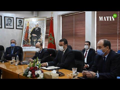 Video : Installation du nouveau directeur général de la Caisse Nationale de la sécurité sociale