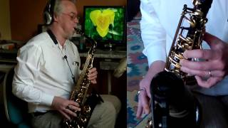 Skyfall - alto saxophone - Vandoren Jumbo Java A95 - Fibracell medium