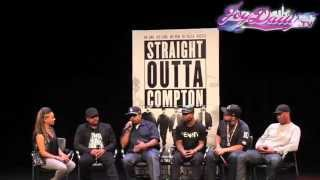 "Ice Cube talks about the 'Fuck The Police' scene in 'Straight Outta Compton"" & leaving N.W.A"