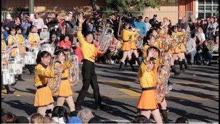 Kyoto Tachibana SHS Band at Rose Parade 2018