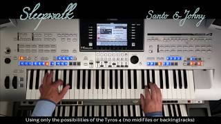 Sleepwalk - Santo & Johnny - Keyboard cover Yamaha Tyros 4