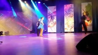 DanSing Junior-6th live-Stathis & Annita and Ilias