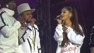 One Love Manchester - Black Eyed Peas & Ariana Grande - Where Is The Love? - 04/06/17