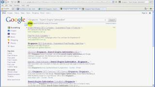 SEO SINGAPORE  a Step By Step Live Search Engine Optimization for seocox.com  pt002