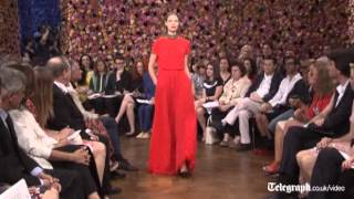 Christian Dior dresses dazzle at Paris Haute Couture week