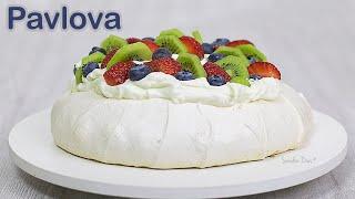 Pavlova de Frutas: como fazer uma pavlova perfeita | Receita Sandra Dias