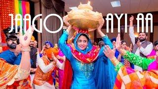 Jago Gidha Boliyan Geet + Nanka Mel - Manreet weds Sumeet | Punjabi Sikh Wedding Calgary width=