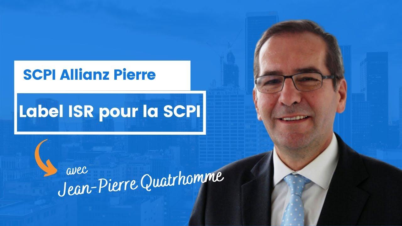 Label ISR pour Allianz Pierre