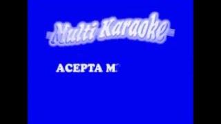 acepta mi error - karaoke tono bajo
