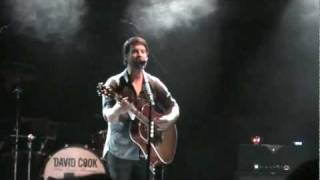 David Cook - Fade into Me (San Diego)