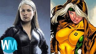 Top 10 Biggest DIFFERENCES Between The X-Men Movies And Comics