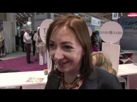 Laura Saeger of South Africa Tourism interviewed at AIBTM 2011