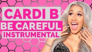Cardi B - Be Careful (Instrumental /  Beat) width=