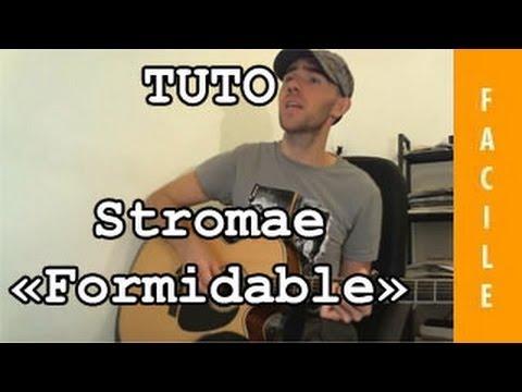 Comment jouer Formidable de Stromae à la guitare