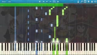 Tomorrow - Konosuba season 2 Opening [Piano cover] // Synthesia