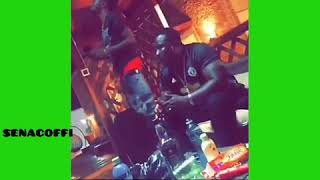 Woow!! See how Shatta wale is treated like a KING by his crew
