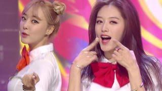 《Goodbye Stage》 Rainbow(레인보우) - Whoo(우) @인기가요 Inkigayo 20160313
