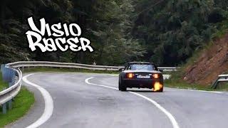 Turbo Miata Shoots A Flame
