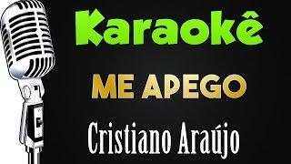 🎤 Me Apego - Cristiano Araújo- Karaokê Sertanejo
