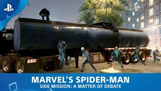Marvel's Spider-Man (PS4) - Side Mission - A Matter of Debate