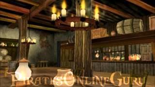 Pirates Online Soundtrack: Tavern [C] Music.