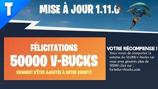 EPIC GAMES DONNE DES V-BUCKS GRATUIT ? FORTNITE Battle Royale