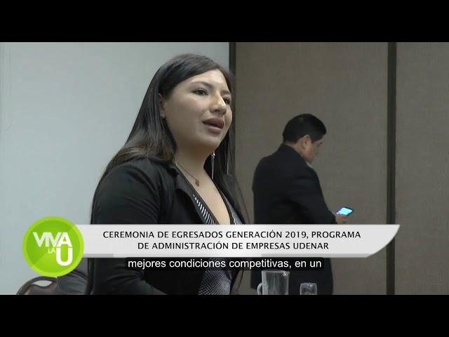 Ceremonia Egresados Administración de Empresas