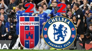 Chelsea vs Videoton Highlights & All Goals 2 2