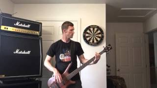 Earth, Wind & Fire - Lets Groove (Bass Cover)