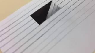 Teckna hål i ett papper!