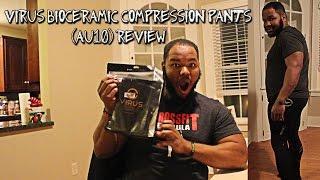 VIRUS Men's Elite Series Bioceramic Compression Pants Unboxing / Mini review