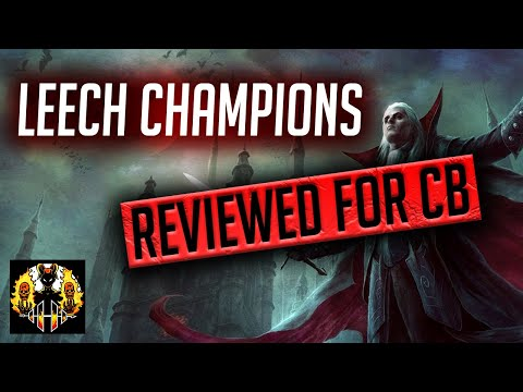 RAID: Shadow Legends | Clanboss series Episode 10: Leech champion | Who can replace Lifesteal set?