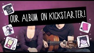 Anna Blue & Damien Dawn- Our Album on Kickstarter!