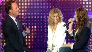 Julio Iglesias & Natasha St Pier, Julie Zenatti - Il faut toujours un perdant width=