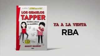 LOS GEMELOS TAPPER SE DECLARAN LA GUERRA, GEOFF RODKEY (BOOKTRAILER)