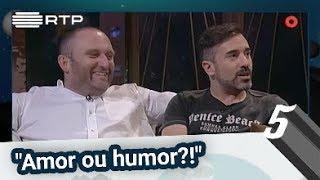 """""""Amor ou humor?!"""" - 5 Para a Meia Noite"""