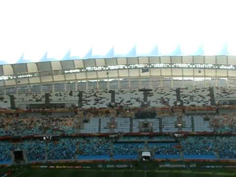 Day 5: FIFA 2010 World Cup, Durgan – Holland v Slovakia – in the stadium