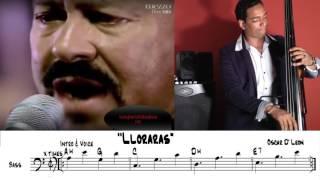 Lloraras de Oscar D´Leon. Bass Cover por Emilio Labardi de Cuba.