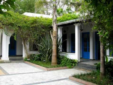 Sidi Bouknadel exotic garden, Salé – Morocco.wmv