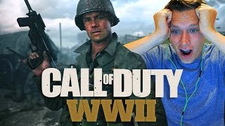 Official Call of Duty®: WWII Reveal Trailer - REACTION VIDEO