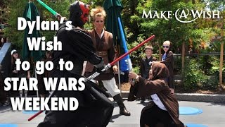 Wish Granted: Dylan Goes to STAR WARS® Weekend in Orlando.