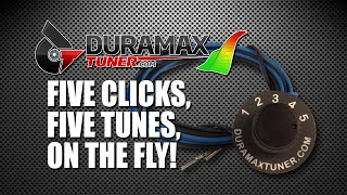 FIVE POSITION ON THE FLY TUNING SWITCH by Duramaxtuner.COM
