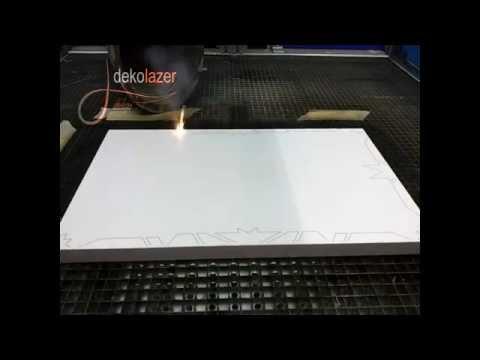 Lazer ile motif işleme